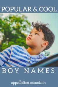 popular boy names