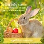 Spring baby names