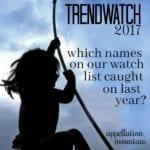 Baby Names: Trendwatch 2017 Report