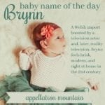 Brynn: Baby Name of the Day
