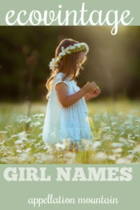 ecovintage girl names