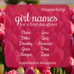 Name Help: Desperate for a Girl Name