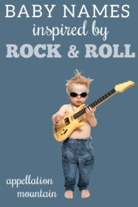 rock star baby names