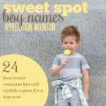 24 Sweet Spot Boy Names: Jonah, Malcolm, Lane