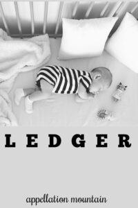 baby name Ledger
