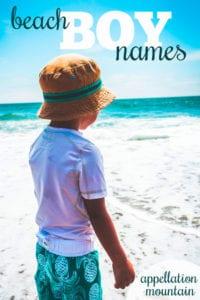 beach boy names
