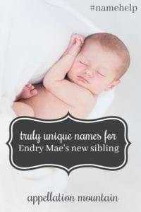 Name Help: Endry Mae