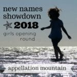 New Names Showdown 2018 Girls Opening Round