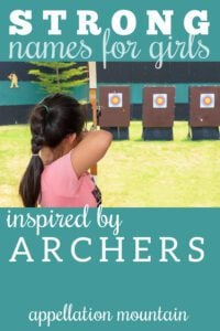 inspired by archers