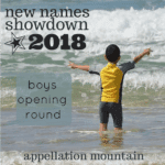 New Names Showdown 2018 Boys Opening Round