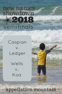 New Names Showdown 2018 Boys SemiFinals