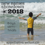New Names Showdown 2018 Boys SemiFinals