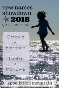 New Names Showdown 2018 Girls SemiFinals