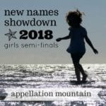 New Names Showdown 2018 Girls SemiFinals
