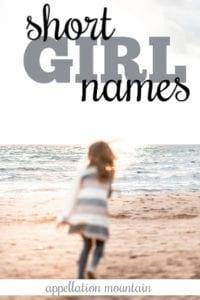 one syllable girl names