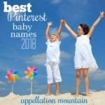 Best Pinterest Baby Names 2018: First Half of the Year