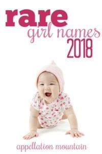 Rare Girl Names 2018