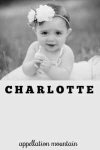 baby name Charlotte