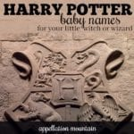 Harry Potter Baby Names: Not Just for Witches and Warlocks