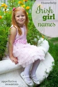 Name Help: Irish girl names
