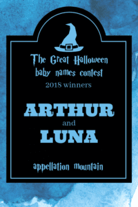 Great Halloween Baby Names Contest 2018 winners