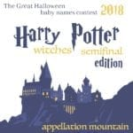 Halloween Baby Names 2018 SemiFinals: Witches of Harry Potter Edition