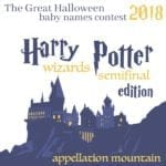 Halloween Baby Names 2018 SemiFinals: Wizards of Harry Potter Edition