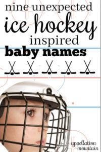 Ice Hockey baby names