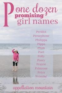 P Girl Names