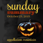 Sunday Summary: Albert, Jagger, and all things Halloween …