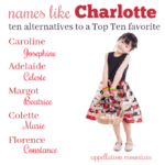 Names like Charlotte: Ten Great Substitutes