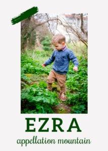 baby name Ezra