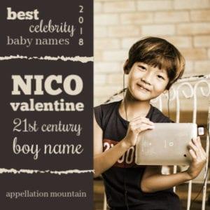 Celebrity Baby Names 2018: 21st Century Boy Names