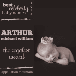 Celebrity Baby Names 2018: The Regalest