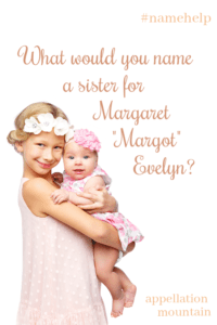 Name Help: A Sister for Margot