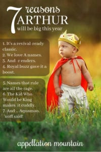 Arthur will be big