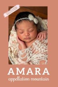 baby name Amara