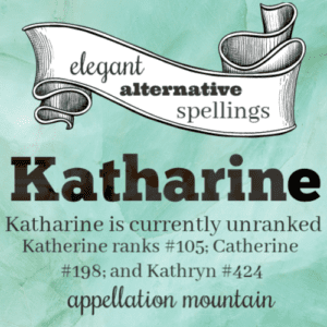 Elegant Alternative Spellings: Katharine