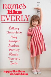 Names like Everly