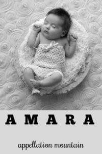 girl name Amara
