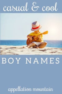 casual cool boy names