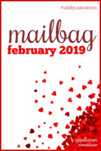 Mailbag February 2019