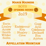 March Madness Baby Names 2019: Boys Opening Round