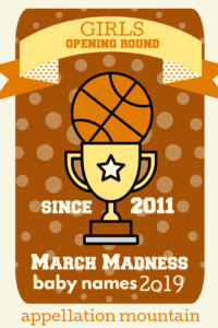 March Madness 2019 Girls Opening Round