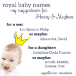 Name Help: Baby Sussex