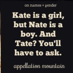Kate Nate Tate