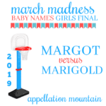 March Madness Baby Names 2019: Girls Final