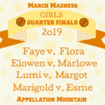 March Madness 2019: Girls Quarter Finals