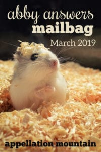 Mailbag March 2019