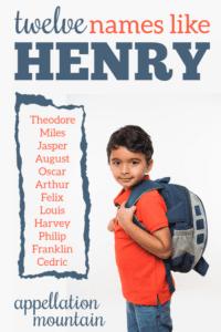 Names like Henry